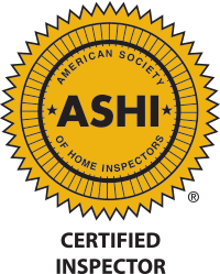 Certified by ASHI (American Society of Home Inspectors)