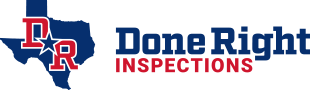 The Done Right Inspections logo