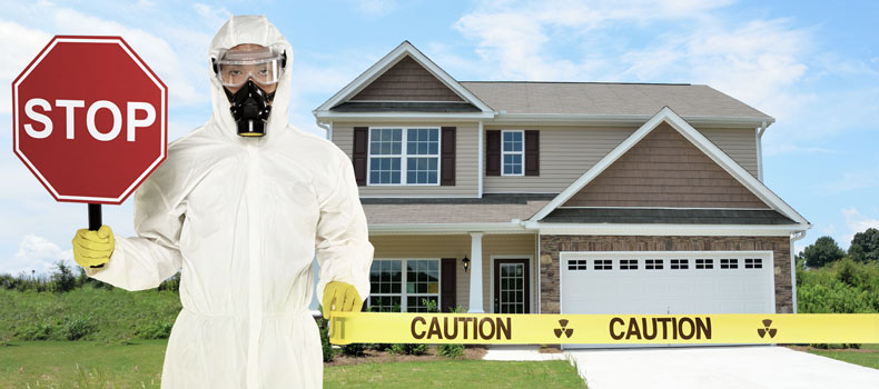 Have your home tested for radon by Done Right Inspections